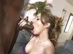 Hot foursome with miley stone and kiera king