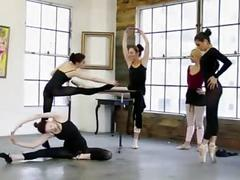 These sexy ballerinas are out of control