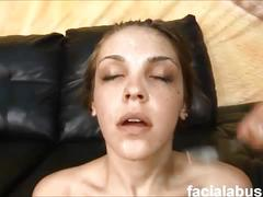 First timer jesse taylor pukes and gets destroyed at face fucking