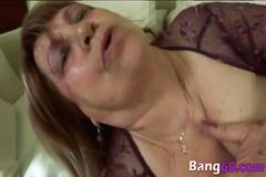 My blonde fat granny busted by spy cam blowing my friend big cock