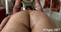 Alluring anal massage sexy