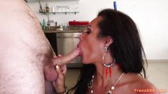 Shemale maid jhoany wilker fucked