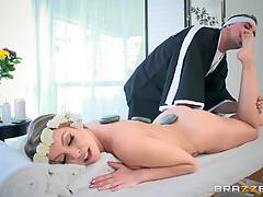 Balls deep in the muff hole of kinky dirty blonde britney amber