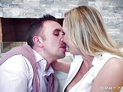 Her passionate love for big white dicks