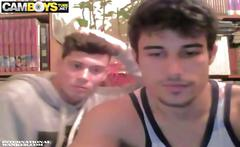 Boys show and wank webcam