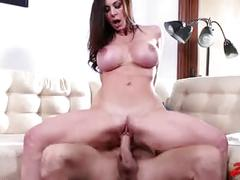 Kendra lust takes his tasty cock