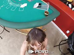Kinky blackjack dealer charlotte cross fucked