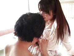 Bootylicious japanese milf sucks dick and gets her pussy eaten