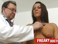 pussy, brunette, fetish, vagina, doctor, bizarre, hospital, exam, extreme, weird, clinic, gyno, medical, closeups