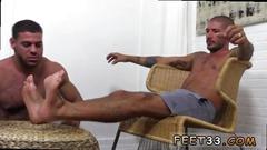 hunk, muscle, twink, footjob, fetish, gay, toe sucking
