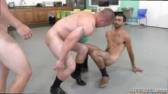 These kinky gay fellows are ready to fuck a blindfolded dude