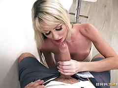 Hard fuck for kinky tylo duran and steamy facial