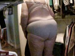 Wife's panty show 2