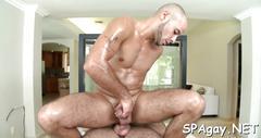 Explicit and sensual massage blowjob video 2