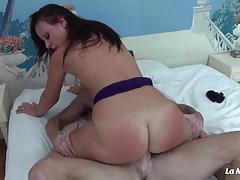 Sexy newbie loves deep hard anal