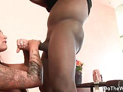Milf nikita denise loves big black cock