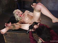 milf, fisting, blonde, bdsm, domination, busty, vibrator, rope bondage, sex and submission, kink, tommy pistol, lorelei lee
