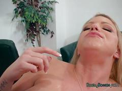 Blonde slut brooklyn chase gets intense dicking
