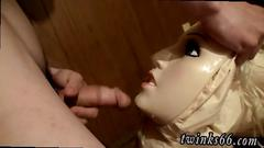 Fun men pissing movie gay a doll to piss all over