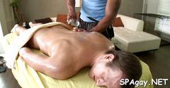 Satisfying gay massge blowjob hardcore 1