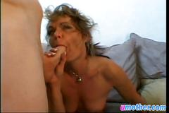 Hot milf likes to take it in the ass after blowing