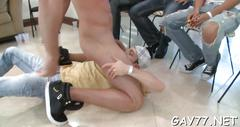 Horny gay boys at party film feature 2