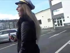 Lena loch - german facial public