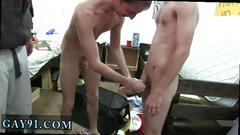 Very hot boy nipple kiss with gay sex movie this week we had a room raid and things got