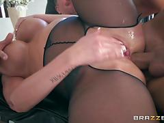 Ass drilling sexy blonde brooklyn chase