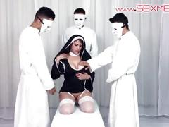 sex, fucked, paris, nun, mexico, alexandra, mexicana, catholic, preist, sexmex