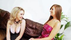 orgasm, blonde, brunette, lesbian, masturbation, pussy licking