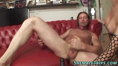 Big cock shemale fucking