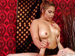 Big tit asian fulfills her client's wishes @ asian strip mall massage #03