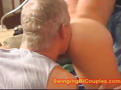 Cum sucking cuckhold husbands