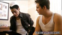Movie of gay sex between two old man first time brody frost and direly strait stop at a