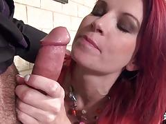 Hot busty french babe fucked at interview