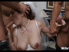 Bride gangbanged on her wedding day
