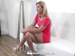 Castingcouch-x petite amateur goldie shows her fucking skills