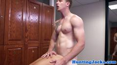 muscle, anal, blowjob, gym