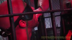 Fetish slave gets to work