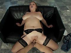 sierra skye, hardcore, big tits, milf, stockings, fingering, pornstar, couch, bbw