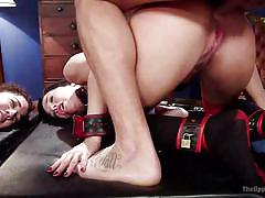 Ramon has two beautiful assholes to chose from