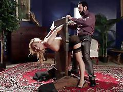 milf, blonde, bdsm, big ass, spanking, domination, big boobs, dick sucking, nipple clamps, device bondage, the upper floor, kink, tommy pistol, cherie deville, marica hase