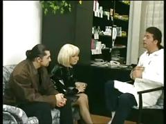 Beautiful olga pechova with her husband at the sex therapist