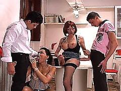Brazilian shemales  sex shop scene
