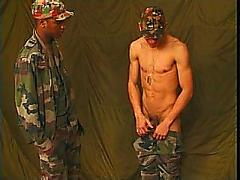 Young military