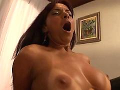 mature, interracial, milf, tanned, big, dick, big tits