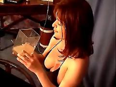 Britney drinks 40 loads of cum