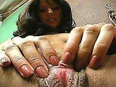 12 nasty latin girls masturbating #2, scene 4