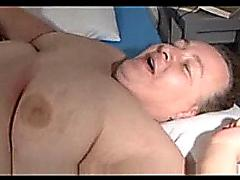 Fat granny fucking and sucking hubby